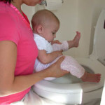 under-thigh hold over toilet